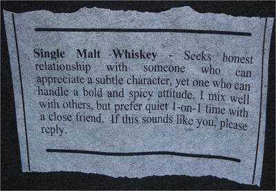 1.T-Shirt-Single Malt